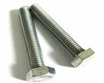 Stainless steel six angle bolt